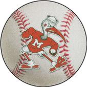 Fan Mats Miami Hurricanes Baseball Mat