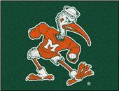 Fan Mats Miami Hurricanes All-Star Mat