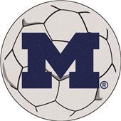 Fan Mats University of Michigan Soccer Ball