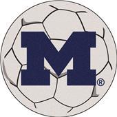 Fan Mats University of Michigan Soccer Ball