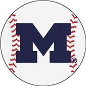 Fan Mats University of Michigan Baseball Mat