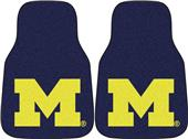 Fan Mats Univ of Michigan Carpet Car Mats (Set)