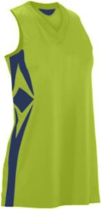 307-FLOURESCENT GREEN/NAVY