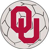 Fan Mats University of Oklahoma Soccer Ball Mat