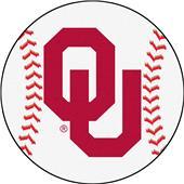 Fan Mats University of Oklahoma Baseball Mat