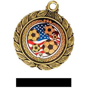 GOLD MEDAL/BLACK RIBBON