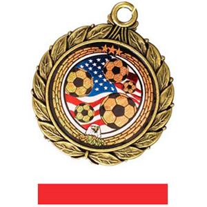 GOLD MEDAL/RED RIBBON