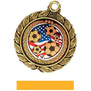 GOLD MEDAL/YELLOW RIBBON