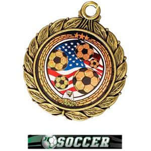 GOLD MEDAL/ULTIMATE SOCCER RIBBON