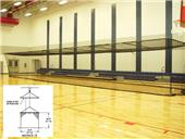 Gared 10'H x 12'W x 70'L Multi-Sport Cages