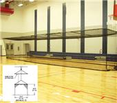 Gared 10'H x 12'W x 55'L Baseball Batting Cages