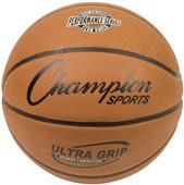 Champion Sports Intermediate Rubber Basketballs
