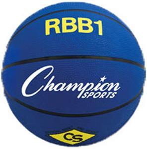 E4783 Champion Sports Heavy Duty Pro Rubber Basketballs