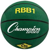 Champion Sports Heavy Duty Pro Rubber Basketballs