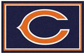 Fan Mats NFL Chicago Bears 4x6 Rug