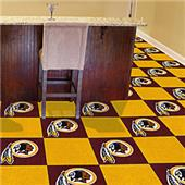 Fan Mats NFL Washington Redskins Carpet Tiles