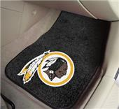 Fan Mats Washington Redskins Carpet Car Mats (set)
