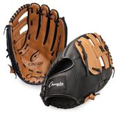 "Champion Baseball 13"" Leather/Vinyl Fielders Glove"