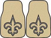 Fan Mats New Orleans Saints Carpet Car Mats (set)