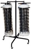Gared Store-It Double Volleyball Net Racks