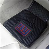 Fan Mats New York Giants Vinyl Car Mats (set)