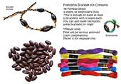 Football Bead Friendship Bracelet Kits