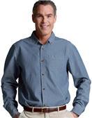 Charles River Button Down Collar Chambray Shirts