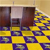 Fan Mats NFL Minnesota Vikings Carpet Tiles