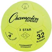 Champion Sports Three Star Indoor Soccer Balls
