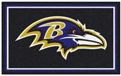 Fan Mats NFL Baltimore Ravens 4x6 Rug