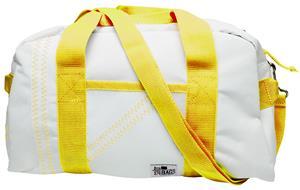 WHITE BAG/YELLOW STRAP