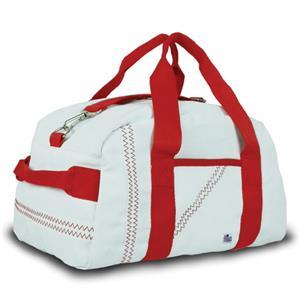 WHITE BAG/RED STRAP