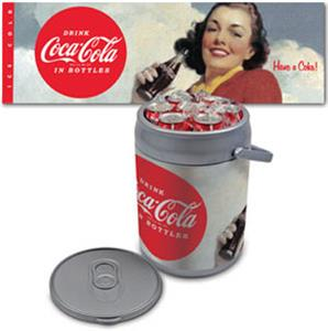SILVER/HAVE A COKE!/GIRL HOLDING COKE