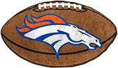 Fan Mats Denver Broncos Football Mat