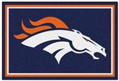 Fan Mats Denver Broncos 5x8 Rug