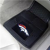 Fan Mats Denver Broncos Vinyl Car Mats (set)