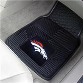 Fan Mats Denver Broncos Vinyl Car Mats (set)