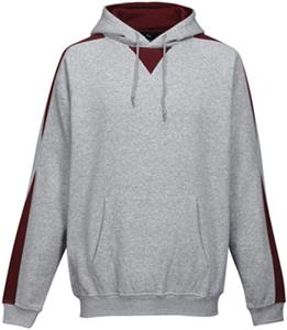 ATHLETIC GRAY / DARK MAROON