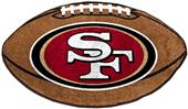 Fan Mats San Francisco 49ers Football Mat
