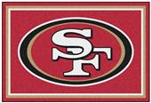Fan Mats NFL San Francisco 49ers 5x8 Rug
