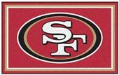 Fan Mats NFL San Francisco 49ers 4x6 Rug