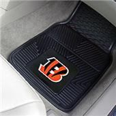 Fan Mats Cincinnati Bengals Vinyl Car Mats (set)