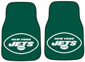 Fan Mats New York Jets Carpet Car Mats (set)