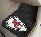 Fan Mats Kansas City Chiefs Carpet Car Mats (set)