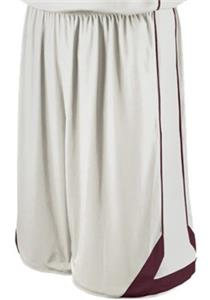 WHITE/DARK MAROON