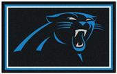 Fan Mats NFL Carolina Panthers 4x6 Rug