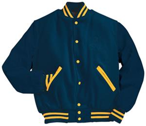 S34 NAVY (BODY & SLEEVES)/LIGHT GOLD (STRIPES)
