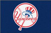 Fan Mats MLB Yankees Alternate Logo Starter Mat