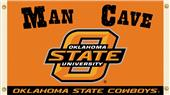 Collegiate Oklahoma State Man Cave 3' x 5' Flag