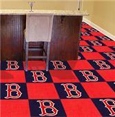 Fan Mats MLB Boston Red Sox Carpet Tiles